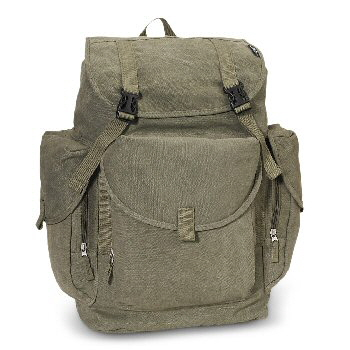 Canvas Backpack - Large