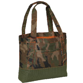 Woodland Camo Tablet Tote Bag