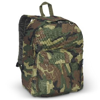 Classic Woodland Camo Backpack