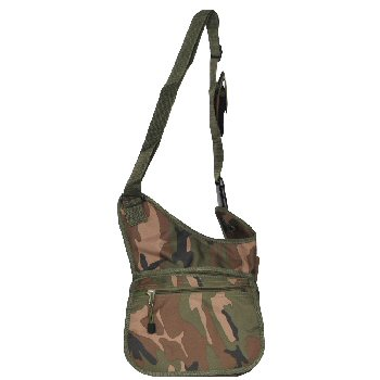 Woodland Camo Messenger